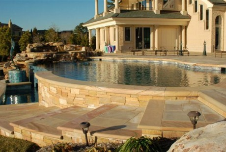 Step Treads - Pool Coping Stone - Silvara Stone