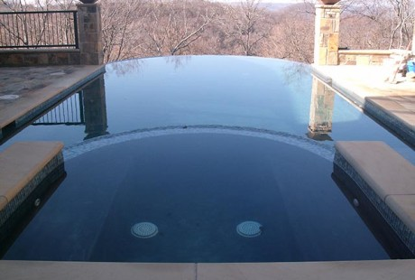 Bullnose pool coping stone - Silvara Stone