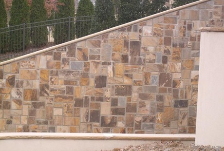 Castle Rock - retaining wall - Silvara Stone