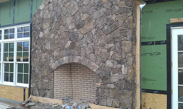 Tennessee Fieldstone Fireplace : Fireplace stone ideas silvara