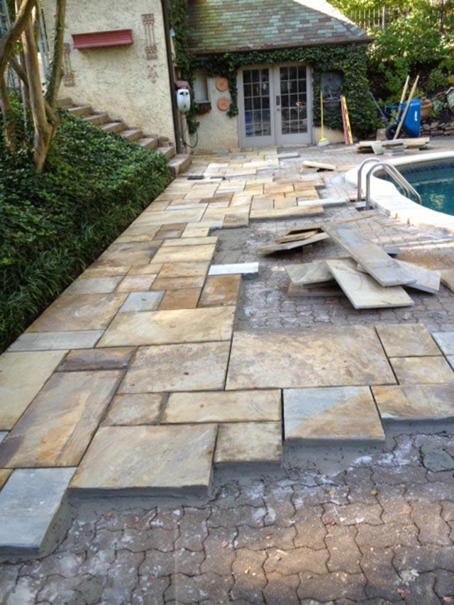 Jewsons Paving Slabs >> Recent Projects | Silvara Stone