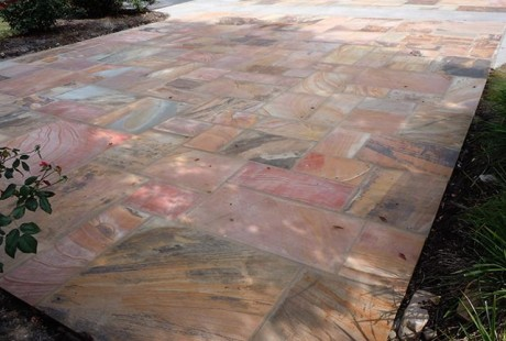 Natural cleft flooring stone - Silvara Stone