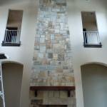Westchester Castle Rock Fireplace - Silvara Stone