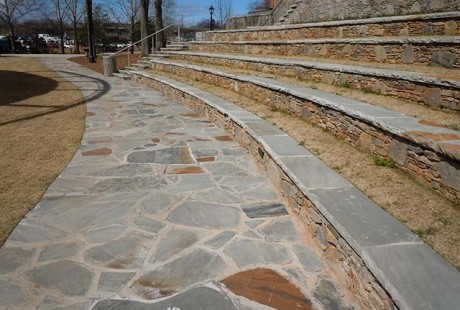 Gray Flagstone Wall Caps - Silvara Stone