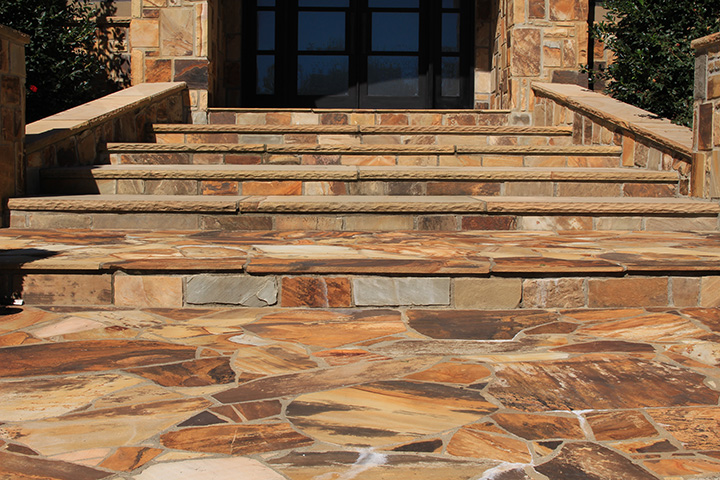 Flagstone patio - Silvara Stone